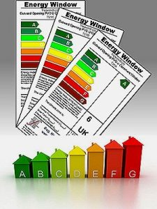 window energy rating labels