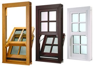coloued sash windows