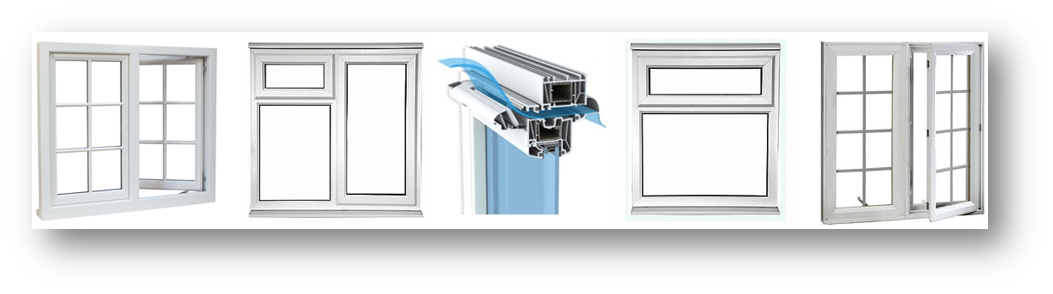 UPVC Casement Windows M Trickle Vent