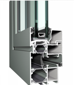 cross section upvc windows