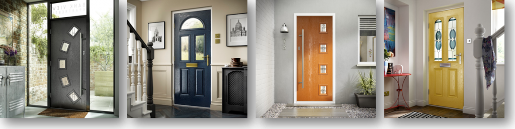 Composite & UPVC Front Doors